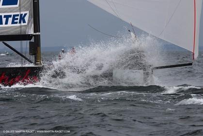 13 06 2010 - Copenhagen (DK) - 2010 RC 44 Championship Tour - RC44 Copenhagen Cup - BMW ORACLE Racing - Day 5 - Fleet racing