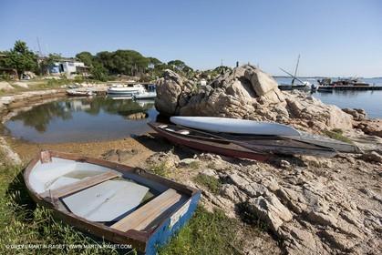 19 05 2010 - La Maddalena (ITA, Sardinia) - Carrano boatyard and Passo della Moneta Marina