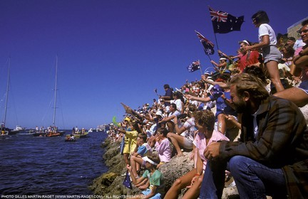 America's Cup, Fremantle 1987
