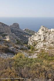 10 09 2009 - Marseille (FRA, 13) - Les Calanques - Massif de Marseilleveyre - Vallon de Mougranier - Vallon Saint Michel
