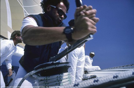America's Cup - San Diego 1992 - Bertrand Pacé