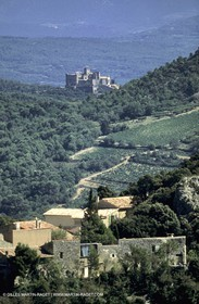 Dentelles of Montmirail - Suzette - Barroux castle