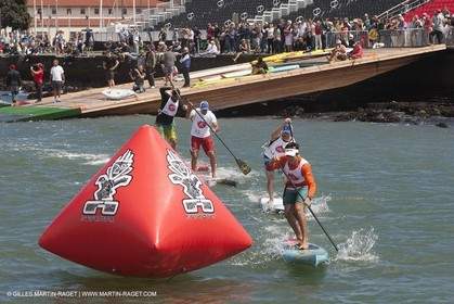 01 09 2013 - San Francisco (USA,CA) - 34th America's Cup - AC Village at Marina Green, AC Open, Stand Up Paddle