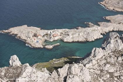 10 03 2009 - Marseille (FRA, 13) - Les Calanques - Ile Maire, cap Croisette, Baie des singes