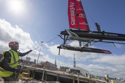 21 07 2015, Portsmouth (GBR), 35th America's Cup, Louis Vuitton America's Cup World Series Portsmouth 2015, Training Day 2