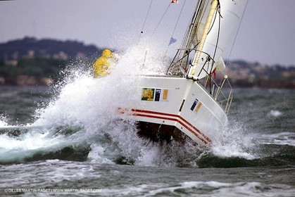 Hard sailing conditions