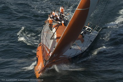 Volvo Ocean Race 2014-2015 - Team Alvimedica trainings - Lisbon (POR) - 25 04 2014