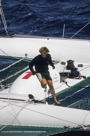 Yacht Racing, Multihull, ORMA 60, Laurent Bourgnon, Primagaz