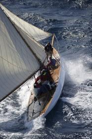 07 10 2006 - Saint Tropez (Fr) - Voiles de Saint Tropez 2006 - Classic Yachts - Moonbeam IV