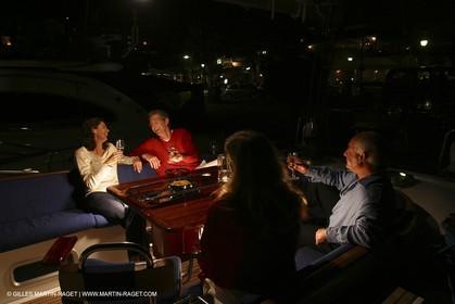 Sail - Cruising - People - At night