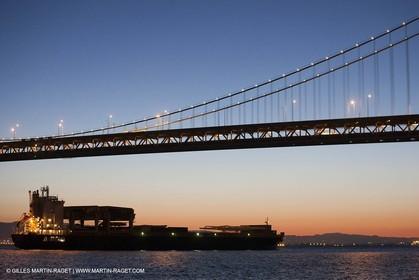 28 02 2011 - San Francisco (USA-CA) - Oakland Bay Bridge