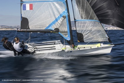 21 03 2013 - Marseille (FRA,13) - 49er FX test