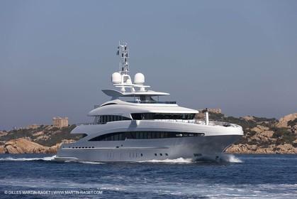 18 08 2011 - La Maddalena (ITA, Sardinia) - Motor yacht Inception
