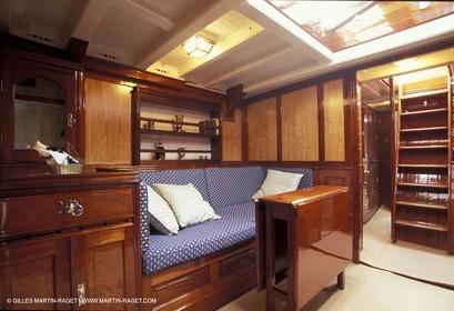 Interiors - Classic yachts - Tuiga