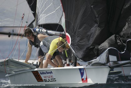 2005 Hyeres Sailing Week (SOF) - 49ers