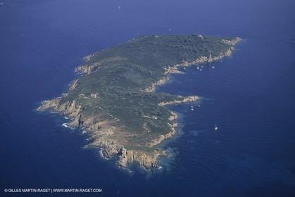 France, Provence, Ile d'Hyères, Ile de Bagaud