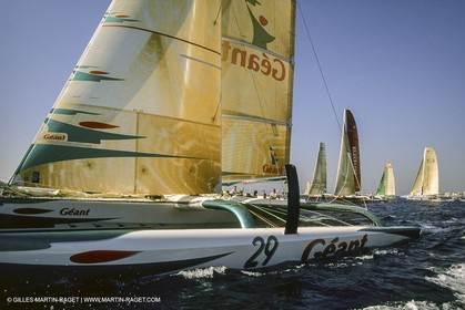 Yacht Racing, Multihull, ORMA 60, Michel Desjoyeaux, Géant