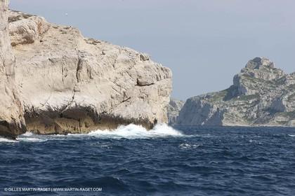 05 05 2009 - Marseille (FRA, 13) - Les Calanques -Jarre island