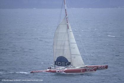 Sailing, Offshore racing, records, Round The World non stop solo, Idec, Francis Joyon