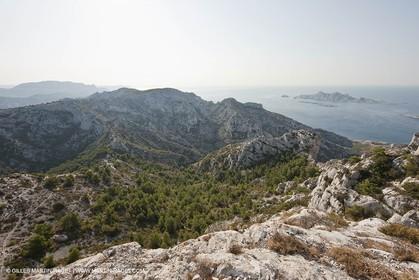 10 09 2009 - Marseille (FRA, 13) - Les Calanques - Massif de Marseilleveyre - Les Malvallons, Tête et plateau de l'homme mort