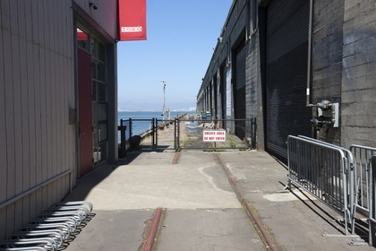 07 06 2011 - San Francisco (USA,CA) - 34th America's Cup - The Piers in their state of origin - Pier 26-28 - Pier 28