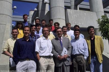 America's cup - San Diego 1995 - Cap Harmony - Design team