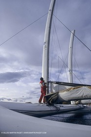 Sailing, Overall speed record attempt, Charentes Maritimes II, Sète (FRA,34)