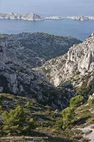 10 09 2009 - Marseille (FRA, 13) - Les Calanques - Massif de Marseilleveyre - Vallon de la Mounine