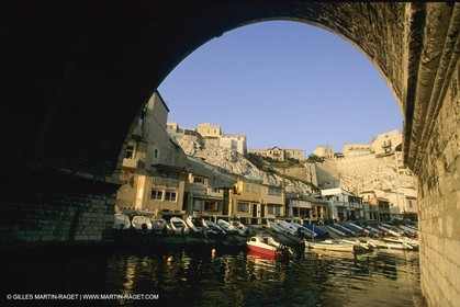 France, Provence, Marseille, villages-quartiers, Vallon des Auffes