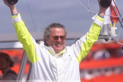 America's Cup - Auckland 2000  - Louis Vuitton Cup - 1 2 finals - Bruno Troublé