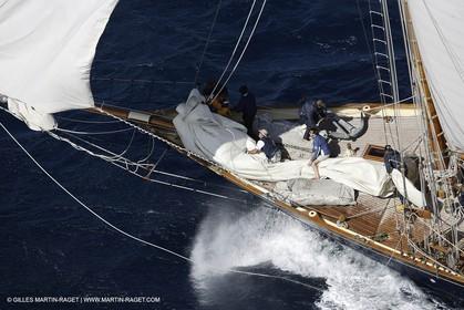 07 10 2006 - Saint Tropez (Fr) - Voiles de Saint Tropez 2006 - Classic Yachts - Mariette