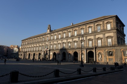 24 02 2012 - Naples (ITA) - 34th America's Cup - America's Cup World Series Naples 2012 - Naples Preview - Palazzo Reale