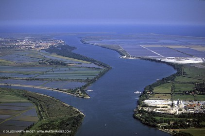 Rhône river mouth