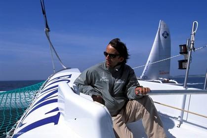 ORMA 60' Trimaran Foncia 2 - Alain Gauthier - First sails