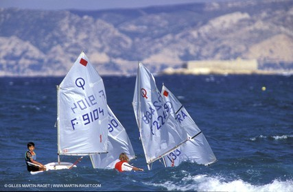 Dinghies - Raids - Children - Optimist