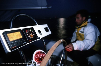 Sail - Cruising - People - At night - Boathandling - Equipment - Electronics