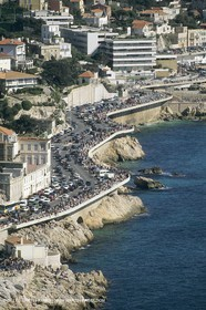 France, Provence, Marseille, villages-quartiers, Corniche Kennedy