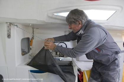 27 03 08- La Grande Motte- (FRA,34) Transat AG2R 2008- Jean-Paul Mouren- Laurent Pellecuer