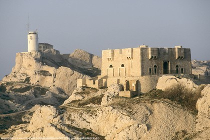 Marseille historical heritage (check keywords for more infos), Temple du Frioul