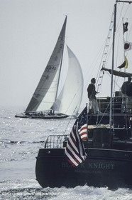 Newport 1983, Australia II Vs Liberty, , Black Knight