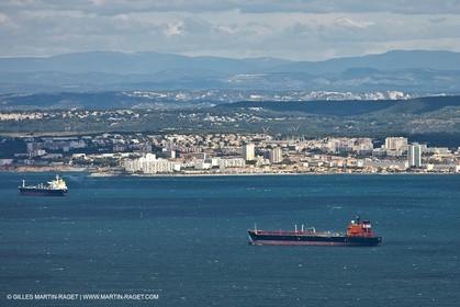 25 09 2010 - Aerial Camargphotos of the coastline from Marseille to La Grande Motte via the Camargue - Port de Bouc