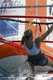 World sailing games ISAF 2002-bic series-Lise Vidal