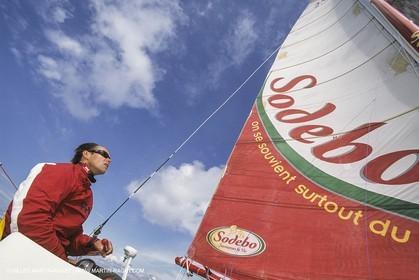 Yacht Racing, Multihull, ORMA 60, Thomas Coville, Sodebo
