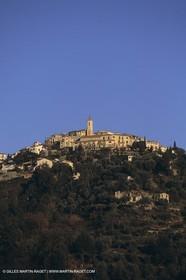 France, Provence, Village Perchés des Alpes Maritimes, Aspremont