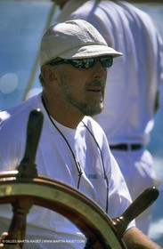 Sunshine owner skipper, Peter Wood - Classic yachts