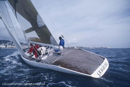 Sailing, Classic Yachts, 8 m JI, Cannes régates Royales, Gaulois