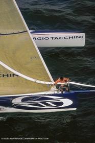 Yacht Racing, Multihull, ORMA 60, Karine Fauconnier, Sergio Tacchini