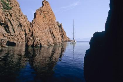 France, Corsica, Scandola National park