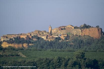 France, Provence, Lubéron, Roussillon