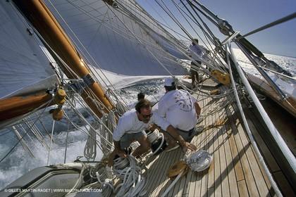Candida - Classic Yachts - Nioulargue - Voiles de Saint Tropez